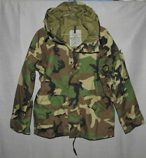 U. S. Military Cold Weather Camouflage Parka Size Small Short 2000 ECWCS