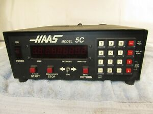 HAAS MODEL 5C CONTROL BOX 7 PIN CONNECTION, NEEDS REPAIR