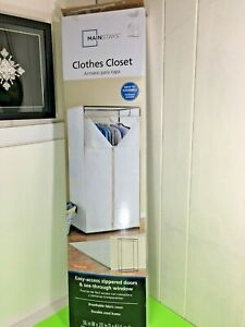 Mainstays Clothes Closet, Portable Fabric Storage Freestanding Unit