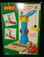 Brio Wooden Railway System Tower Crane for Train Set
