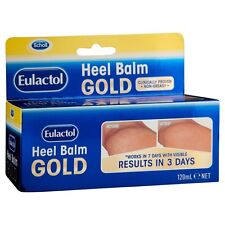 Scholl Eulactol Heel Balm Gold 120ml Repair & relieve rough, dry , cracked skin