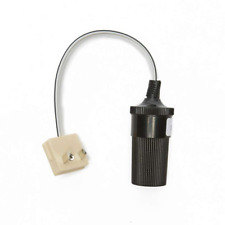 ADAPT IT - A 12V Cigar Socket To W4 10A 2 Pin Plug Caravan / Boat Electrics