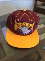 NWT Vintage Washington Redskins Taz Stripe Snapback Hat Cap New With Tags!!!