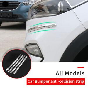 Universal Car Bumper Anti-collision Strips Scratch Door Guard Protector Cover