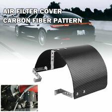 "Air Intake Filter Heat Shield Cover 2.5"" - 3.5"" Universal Carbon Fiber Pattern"