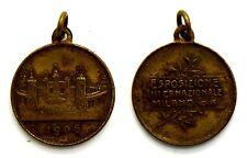 Medaglia Esposizione Internazionale Milano 1906 (S. Johnson) Bronzo