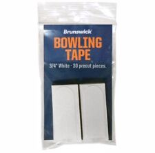 NEW Brunswick Bowlers Tape, 3/4in White, 30/Package