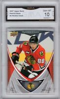 GMA 10 Gem Mint PATRICK KANE 2007/08 Upper Deck ROOKIE CLASS ROOKIE Card!