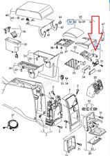 VW TOURAN 1T1 1T2 Armrest Lower Part 1T0864208B New Genuine