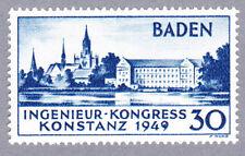 Baden Konstanz Mi.Nr. 46 Plattenfehler I postfrisch