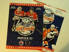 2017 AHL All Star Game program multi autographed by 32 hockey players