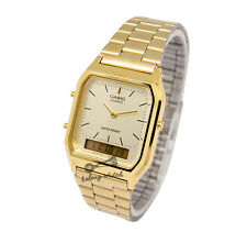 -Casio AQ230GA-9D Dual Time Watch Brand New & 100% Authentic