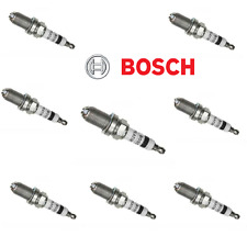 8 Plugs BOSCH PLATINUM+4 High Power Spark Plug kit Set for BMW 5 6 7 8 Series x5