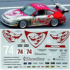 Porsche 911 GT3 RSR Flying Lizard #74 Daytona 2004 1:32 Decal