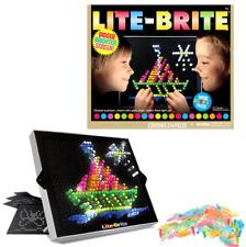 Hasbro Lite-Brite Ultimate Classic w/ 6 Templates & 200 Colored Pegs Light Kids