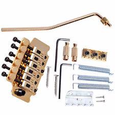 1Set New Gold Tremolo System Double Locking Floyd Rose Guitar Tremolo Bridges