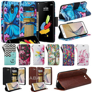 For ZTE Max XL, Blade Max 3, Max Blue, Case Wallet Leather Pouch Cash Slot Strap