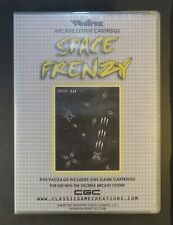 1982 Space Frenzy Vectrex Video Game Cartridge and Box RARE