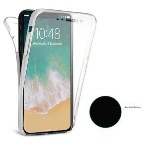 For Apple iPhone 11 12 XR 7 6 5 SE 360 Soft Gel Front Back Case Silicone Cover