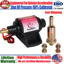 3/8 inch Universal  Electric Gasoline Fuel Pump 42GPH 2-3.5PSI 12V Fits Most Car
