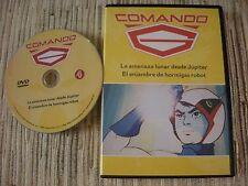 DVD SERIE ANIME COMANDO G LA BATALLA DE LOS PLANETAS GATCHAMAN Nº 4 USADO