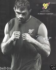 Forrest Griffin UFC TUF Signed Autograph 8x10 Photo MMA