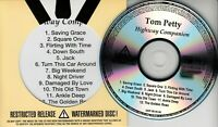 TOM PETTY Highway Companion UK 12-trk numbered/watermarked promo test CD
