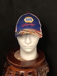 NASCAR NAPA Racing Hat Cap # 15 Signed By Michael Waltrip  baseball trucker
