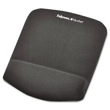 Fellowes PlushTouch Mouse Pad with Wrist Rest Foam Graphite 7 1/4 x 9-3/8