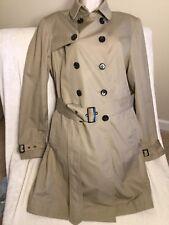 Beautiful Jane Post Khaki Belted Trenchcoat Size Large