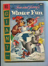 Dell Giant Tom And Jerry Winter Fun #5 (6.5) File Copy
