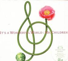 Mr. Children - It's a wonderful world - Japan CD - NEW