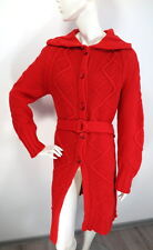 IVKO Womens Long Cardigan Wool size M