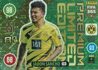 Panini Adrenalyn XL Fifa 365 2021 Premium Edition Limitée Jadon Sancho