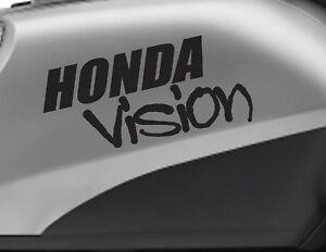 HONDA VISION motorbike bike logo decals CUSTOM COLOUR Vinyl Sticker