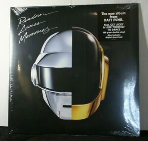 DAFT PUNK-RANDOM ACCESS MEMORIES 2 X  VINYL LP GATE-FOLD W/ DOWNLOAD SEALED