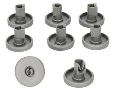 8 X Large Lower Basket Bottom Rack Wheel Wheels for Siemens Dishwasher 40mm