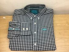 Superdry New York Button Down  Men`s Long Sleeve  Checked Shirt Size XL
