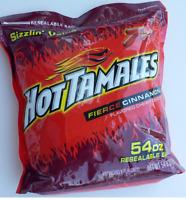 Hot Tamales 54 oz Bulk Bag Candy Cinnamon Chewy Candies Vending $16.87