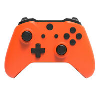 Orange & Black Xbox One S X Controller Full Custom Replacement Shell Mod Kit
