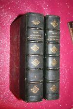 DICTIONNAIRE DE LA VIE PRATIQUE par BELEZE  2 VOLUMES EDITIONS HACHETTE 1890