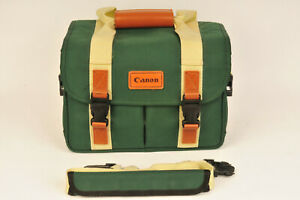 Vintage Canon Camera Sholuder Bag for Film / DSLR / Mirrorless Camera
