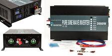 12V to 120V 60HZ 3000W Off Grid DC to AC Pure Sine Wave Power Inverter
