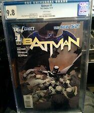 Batman #1 New 52. CGC 9.8 DC Comics  2011 Court of Owls part 1 Snyder Capullo