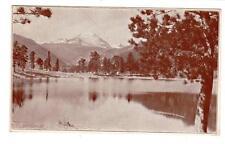 CO - ALLENS PARK COLORADO 1921 Postcard COPELAND LAKE LODGE