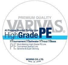 New Varivas All Purpose High Grade Pe Line 150m Size 1.2 Japan