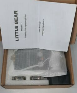 Little Bear T7 Tube CD / RIAA Turntable Pre-Amplifier (Black) NEW