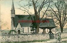 PRINTED POSTCARD THORPE THEWLES CHURCH, (NEAR STOCKTON) CO. DURHAM, PHOENIX #703