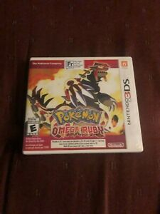 Pokemon Omega Ruby 3ds with Manual