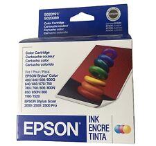 OEM Epson S020191/S020089 Color Cartridge Stylus 400/600/740 Expired